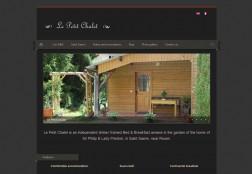 Site web Le Petit Chalet