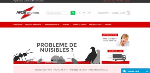 Hygie Solutions – vente en ligne de produits anti-nuisibles
