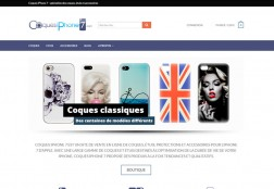 Site web Coques iPhone 7
